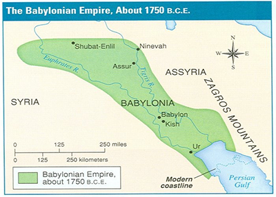 Babylonian Empire map
