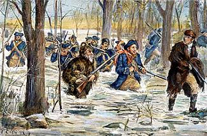 George Rogers Clark march to Vincennes