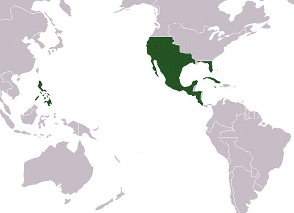 spain and mexico map The Campaign For Mexican Independence