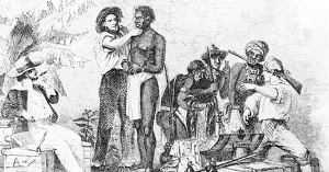 The first slaves in America