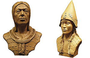 Scythian king and queen