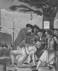 Sons of Liberty tarring and feathering