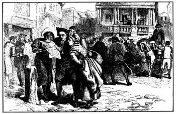 Stamp act protest